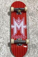 Tech Deck Mega Ramp Red Stripes Fingerboard Skateboard 96mm
