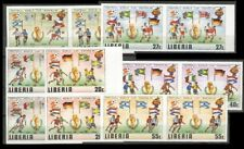Liberia  LOT  ALL Imperf pairs Sc 886 to 891 C 93 to 96 Mint NH VF SEE SCAN