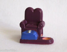 POLLY POCKET Tiny Collection Disney CINDERELLA Glass Slipper CHAIR - RARE