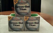 Lot of 3 worth Titan official softball