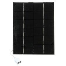 5.7W 6V Mini Monocrystalline Solar Panels With USB Charging