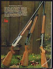 1983 BENELLI Special Trap, Standard Model 121, SL 123 Deluxe Shotgun Photo Page
