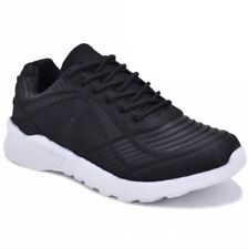 Rave Aljon Men's Sneakers Rubber Shoes - BLACK (SIZE 45)