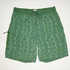 The North Face Green Board Shorts Swim Trunks Mens Small
