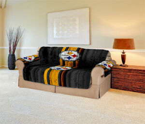 Pittsburgh Steelers Sofa Cover Furniture Slipcovers Protector Strech Couch Cover
