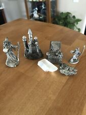 Lot Of Pewter Fantasy Figurines