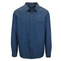 Columbia Men's Azure Blue Smith Creek L/S Woven Shirt (Retail $65) 461