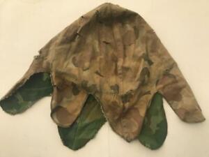 Rare WW2 / Post WW2 Reversable Camouflage Helmet Cover (used)
