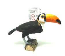 V14) PAPO (50216) Toucan toco OISEAU ANIMAUX SAUVAGES env. 8 cm