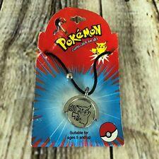 Pokemon Pikachu Necklace Choker Nintendo Officially Licensed 2 Sided Pendant