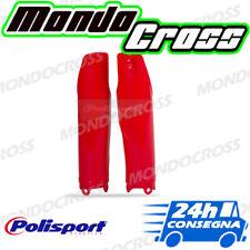 Parasteli copristeli forcella POLISPORT Rosso cr04 HONDA CRF 450 R 2010 (10)!