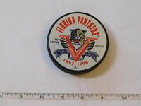 Florida Panthers NHL Hockey puck Limited Edition Fifth Season 1997-1998 pre-owne