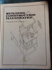 Building Construction Illustrated by Francis D. K. Ching Hardcover 1975