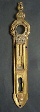 Entrée de serrure poignée de porte en bronze doré Louis XIV 19e siècle Dandois