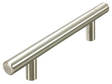 "New Stainless Steel Kitchen cabinet Bar pulls 3 3/4"" 96MM Brushed nickel"