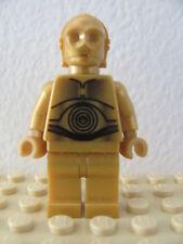 LEGO Star Wars @@ Minifig @@ sw161a @@ C-3PO Pearl Gold - 8092 8129 10188 10198
