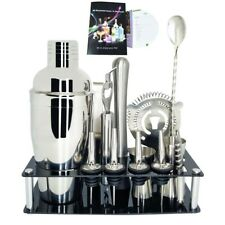 Professional Bar Tools Set Bartenders Cocktail Shaker Cocktail Rack Stand Jigger