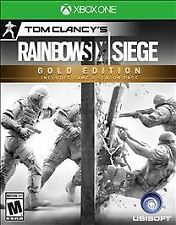Tom Clancy's Rainbow Six Siege: Gold Edition (Microsoft Xbox One, 2015)