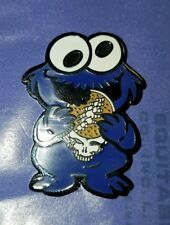 Cookie Monster Hippie Weed Festival Lapel 710 Enamel 420 Dab Pin Free Shipping