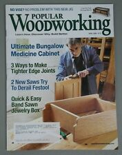 Popular Woodworking - Medicine Cabinet, Band Saw Jewelry Box Plans: #175