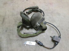 1 VIC-1 Headset H-371/VRC, Missing Mic, for Military Vehicle Intercom