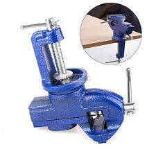 2.5'' Clamp On Table Bench Vise Vice Hobby Craft Tool 360° Swivel Base w/Anvil