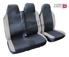 Toyota Proace (16 on) GREY MotorRacing VAN Seat COVERS - Single + Double