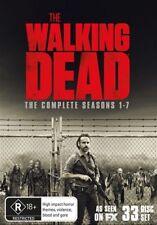 The Walking Dead : Season 1-7 (DVD, 33-Disc Set) NEW