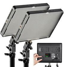 2 Pack Aputure Amaran 528S Led Video Light 5500K Silm High CRI 95+ + Bracket
