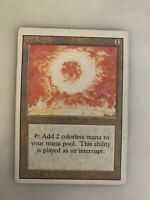 Magic The Gathering MTG  Sol Ring - Artifact Revised 3rd Edition
