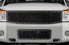 Custom Aftermarket Steel MARINE CAMO Grille Kit for 2008-2014 Nissan Titan Grill