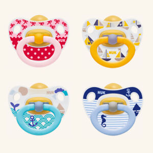 4 succhietti Nuk Happy Kids Ortodontico Lattice 2 pezzi 6-18 m PRENDI 2 PAGHI 1