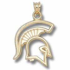 Michigan State University SPARTAN 10 kt Gold Pendant
