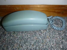 AT&T Telephone Push Button Corded Desk Wall Trimline Phone Blue 210