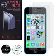2 Films Verre Trempe Protecteur Protection Au Choix pour Apple iPhone 5C