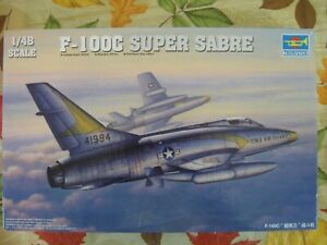 TRUMPETER 1/48 CONVAIR F-106A DELTA DART   #02891