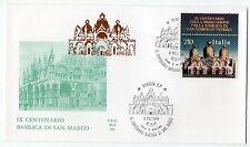 1994 REPUBBLICA BUSTA FDC BASILICA S. MARCO V/1072