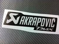 1 Adesivo Stickers AKRAPOVIC Tmax T max black resistente al calore