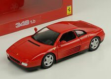 Ferrari 348 tb rot red Hot Wheels 1:18