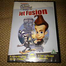 NEW Nickelodeon The Adventures of JIMMY NEUTRON Boy Genius JET FUSION DVD