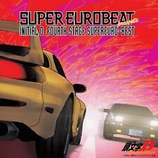 0756 New INITIAL D Eurobeat SuperEuro-Best Fourth Stage Anime CD SOUNDTRACK