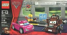 LEGO Cars 2 - Mater's Spy Zone (8424), 100% Complete w/ Manual DIsney Pixar