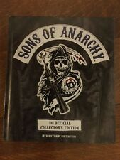 SONS OF ANARCHY HARDCOVER THE OFFICIAL COLLECTOR'S EDITION 2014 Kurt Sutter