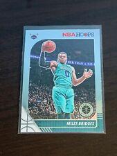 2019-20 NBA Hoops Silver #20 Miles Bridges Charlotte Hornets Basketball Card