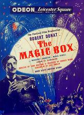 MAGIC BOX 1951 Robert Donat, John Boulting CAMERA UK LIFT BILL POSTER