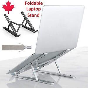 Adjustable Laptop Stand Aluminum Holder Mount Foldable Desk Dock For Macbook Pro