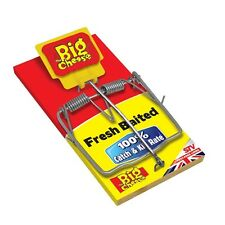 The Big Cheese Fresh Baited Rat Trap STV 195 ( Pack of Two)