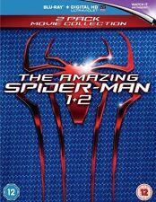 THE AMAZING SPIDER-MAN 1 /  THE AMAZING SPIDER-MAN 2 - BLU RAY - SEALED