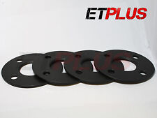 4 x 5mm Hubcentric Bore Alloy wheel spacers Fits Fiat Grand Punto 09- 56.6 4x100