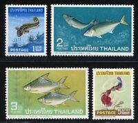 Thailand MiNr. 480-83 postfrisch MNH Fische (Fis428